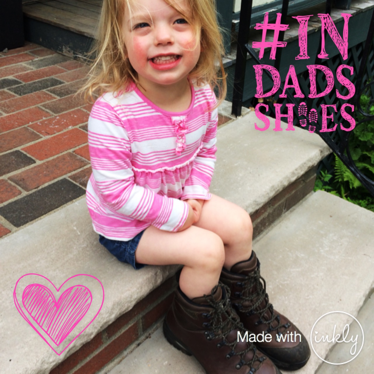 #InDadsShoes Charity Campaign and Competition from Inkly