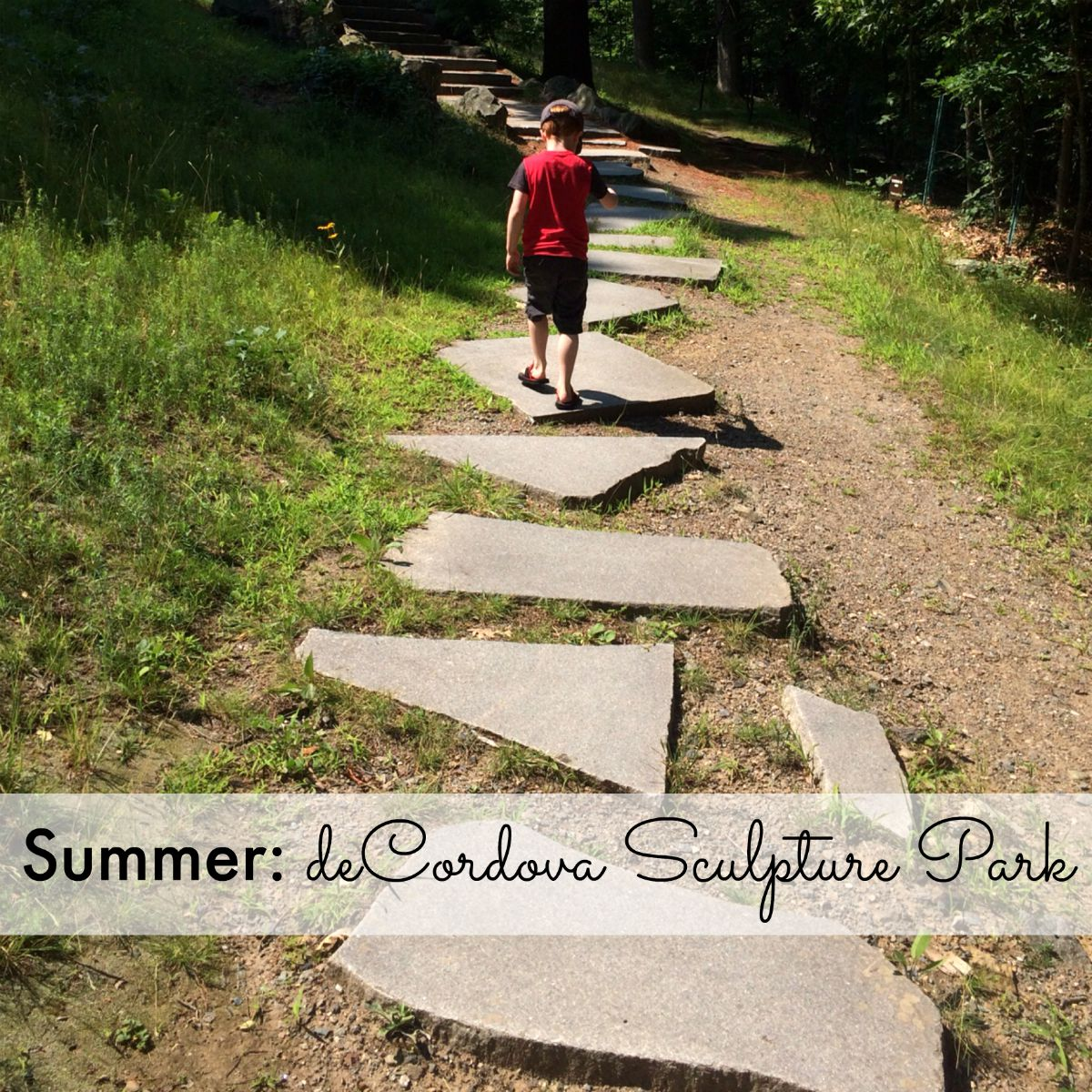 Summer: deCordova Sculpture Park