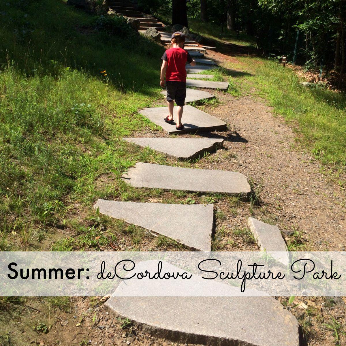Summer: deCordova Sculpture Park