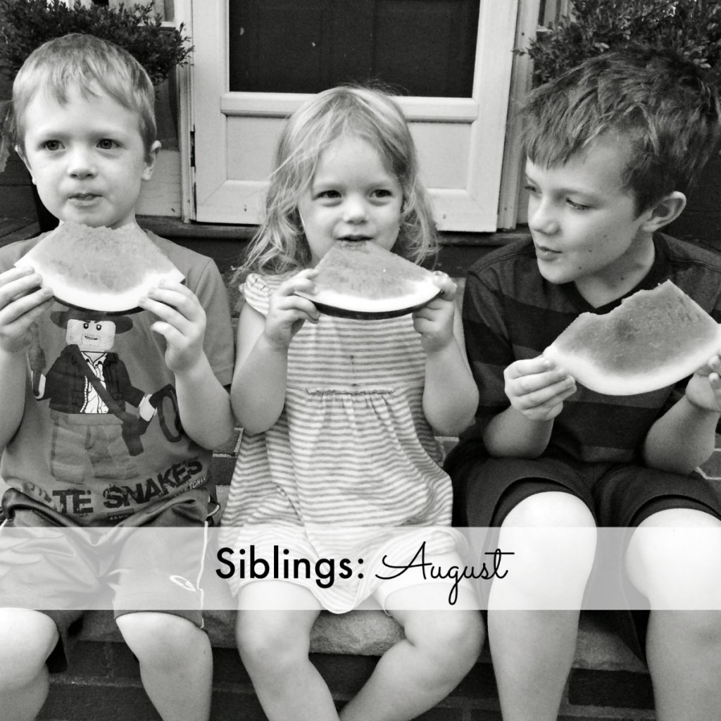 Siblings: August 2015