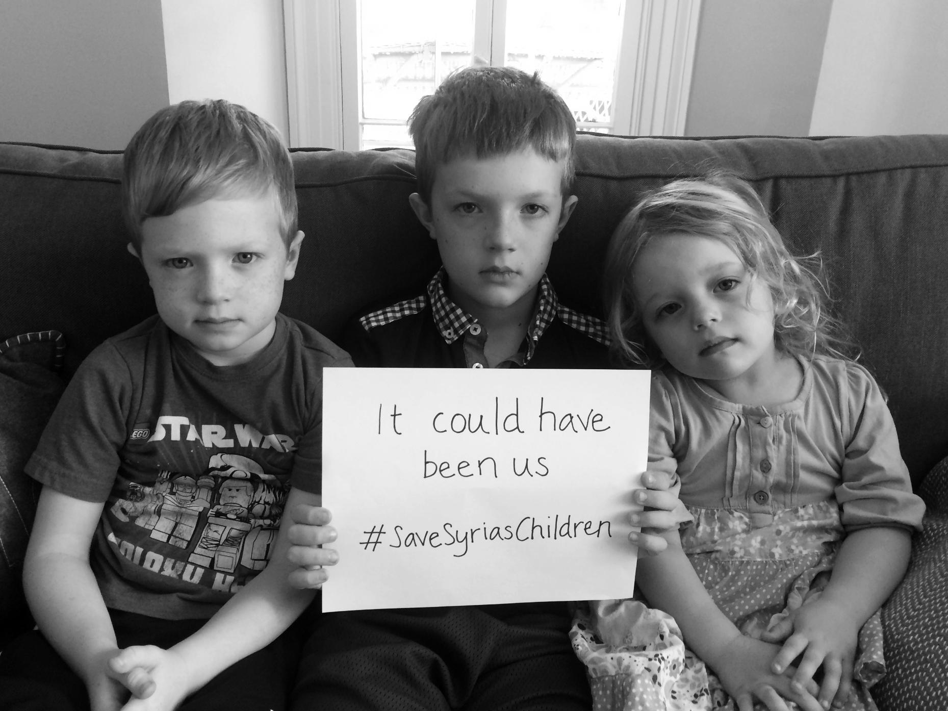 Campaign: Save Syria's Children   mumturnedmom