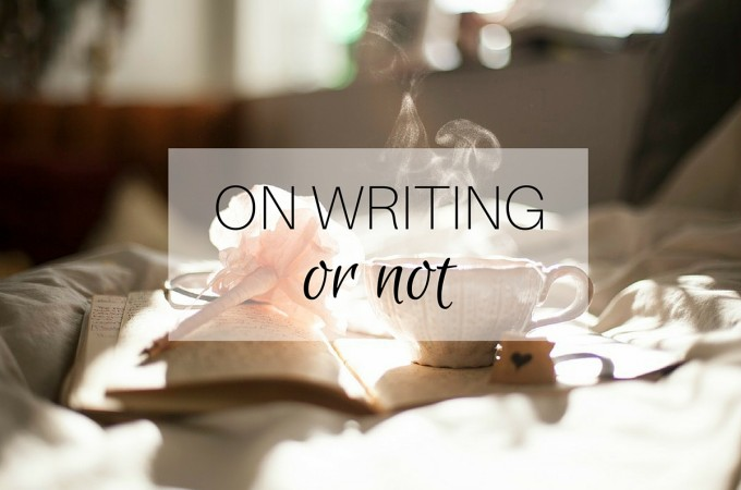 On Writing: or not