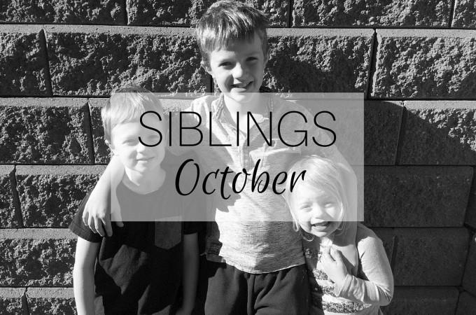 Siblings: October 2015