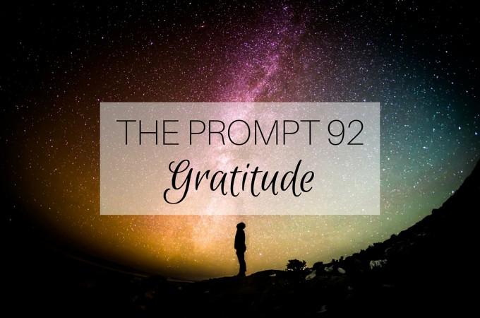 The Prompt: Gratitude