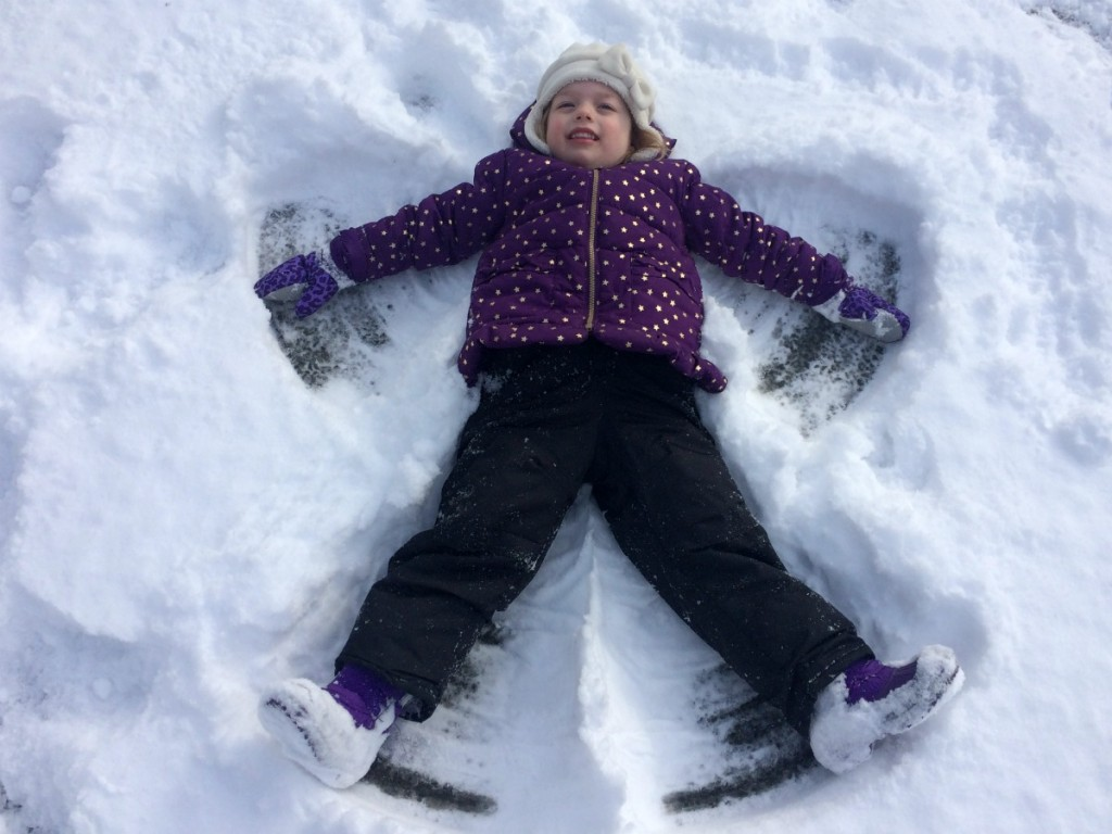 Playing in the snow 13