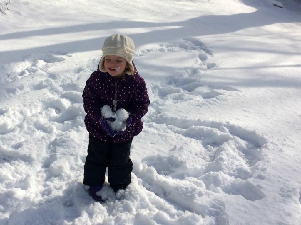 Playing in the snow 7