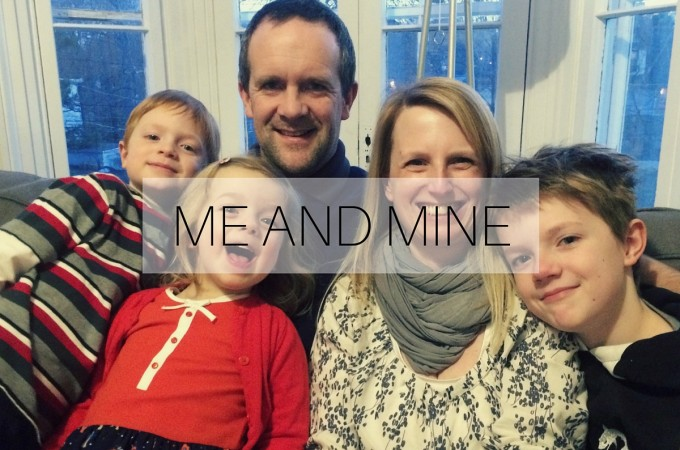 Me and Mine: January 2016