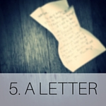 5. A LETTER