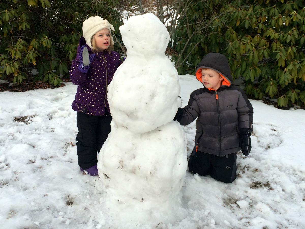 A snowman at last 11