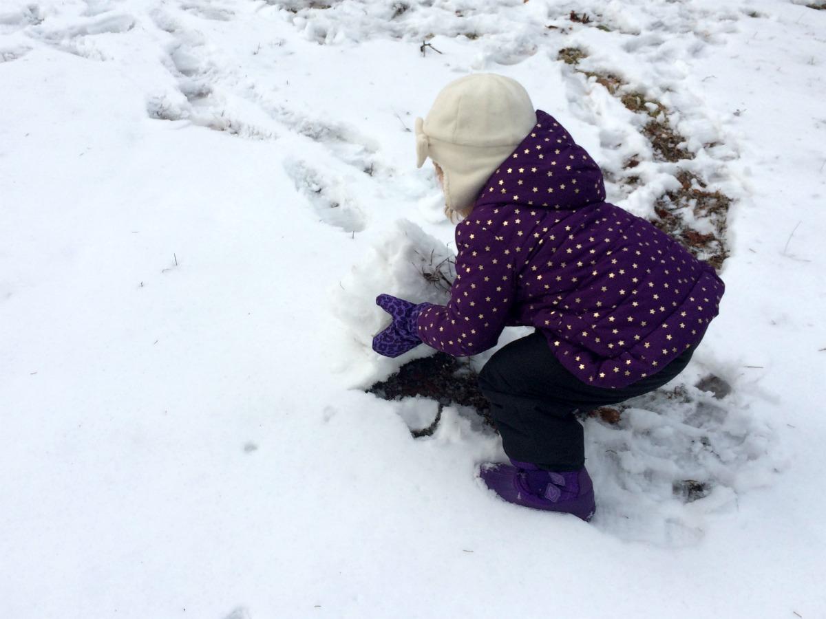 A snowman at last 2