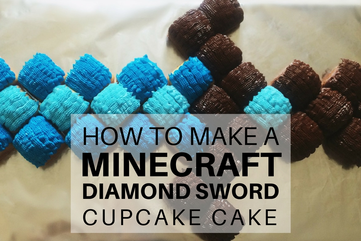Minecraft Diamond Sword Cake Tutorial Mumturnedmom