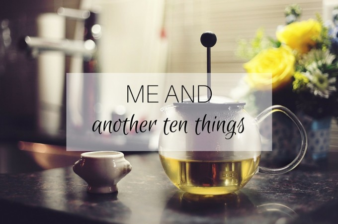 Me and: another ten things