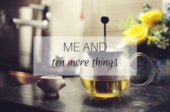 Me and: ten more things