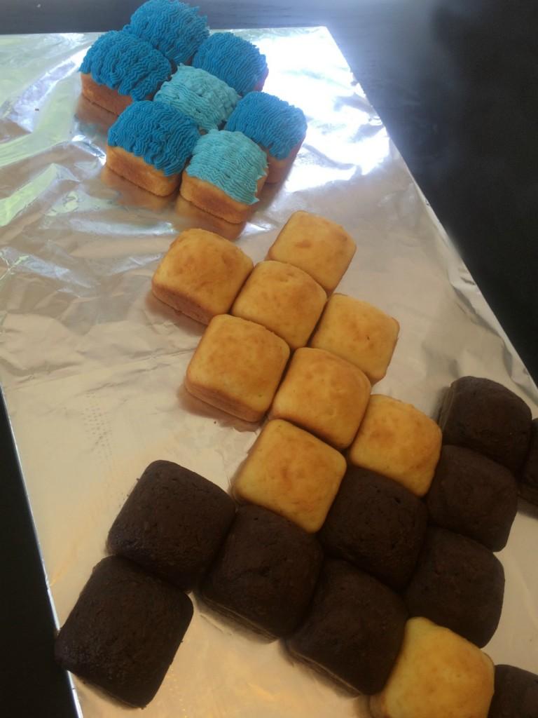 Minecraft Diamond Sword Cake Tutorial Mumturnedmom
