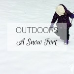OUTDOORS A Snow Fort
