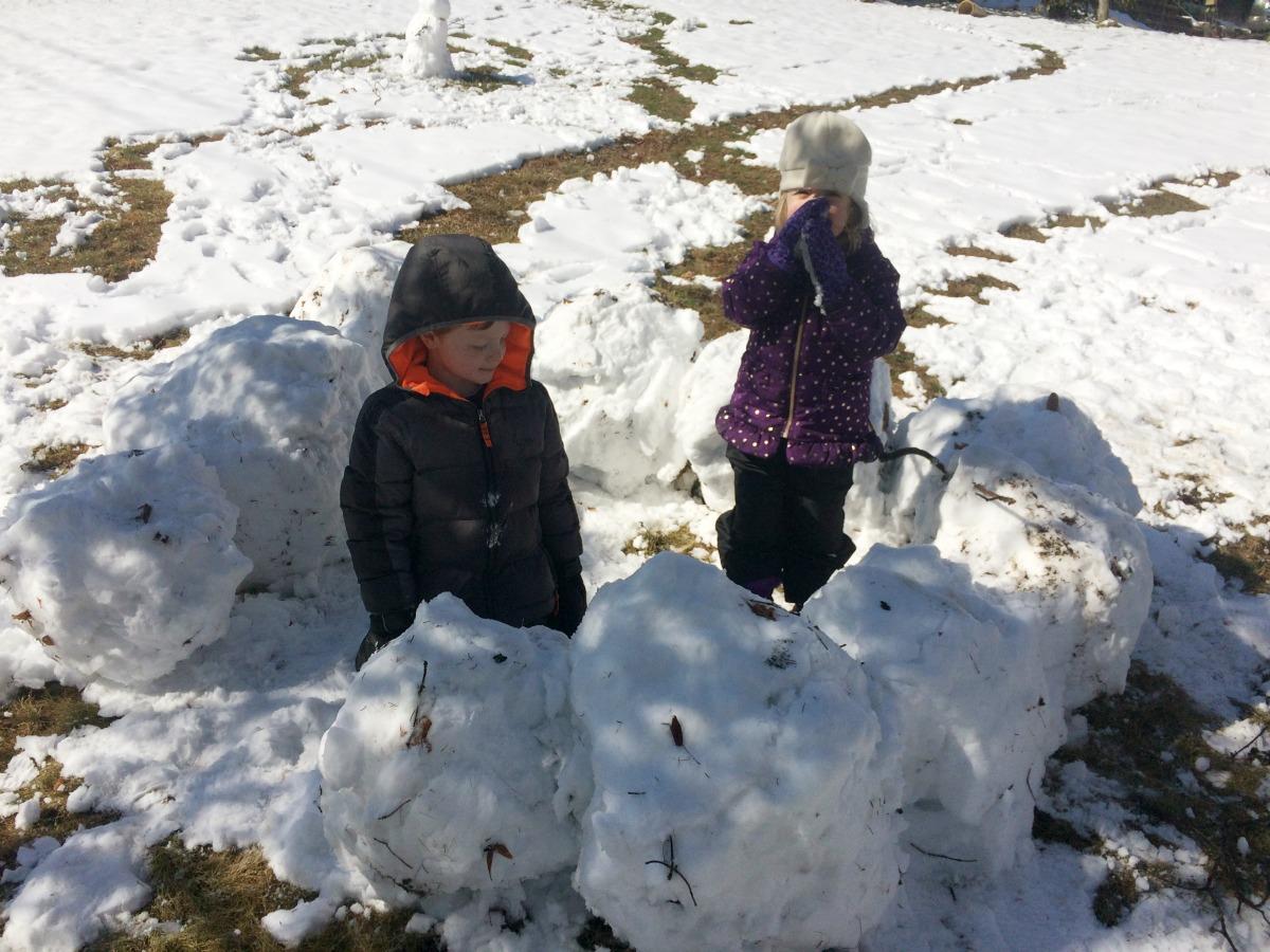 Snow Fort 5