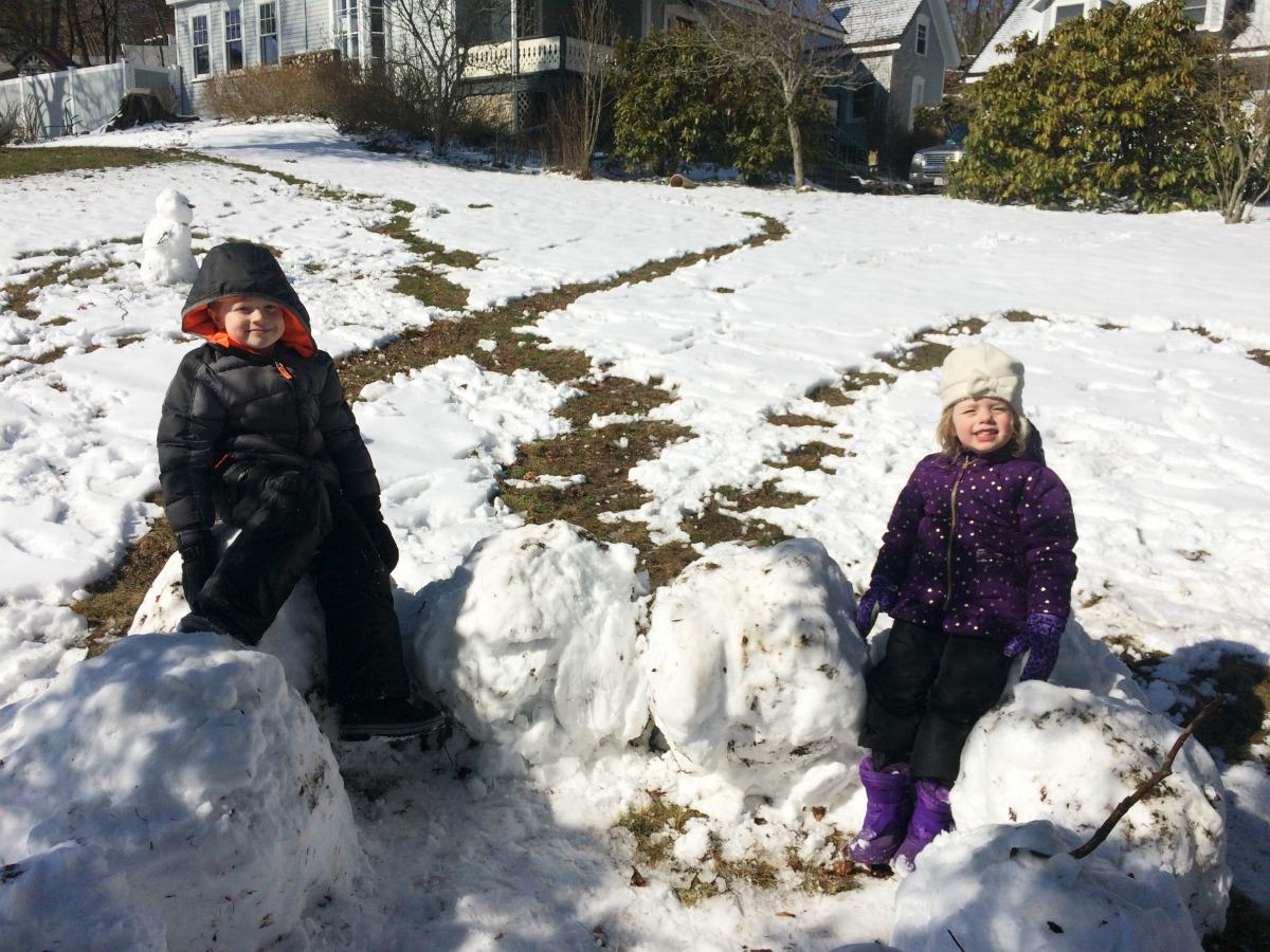 Snow Fort 9