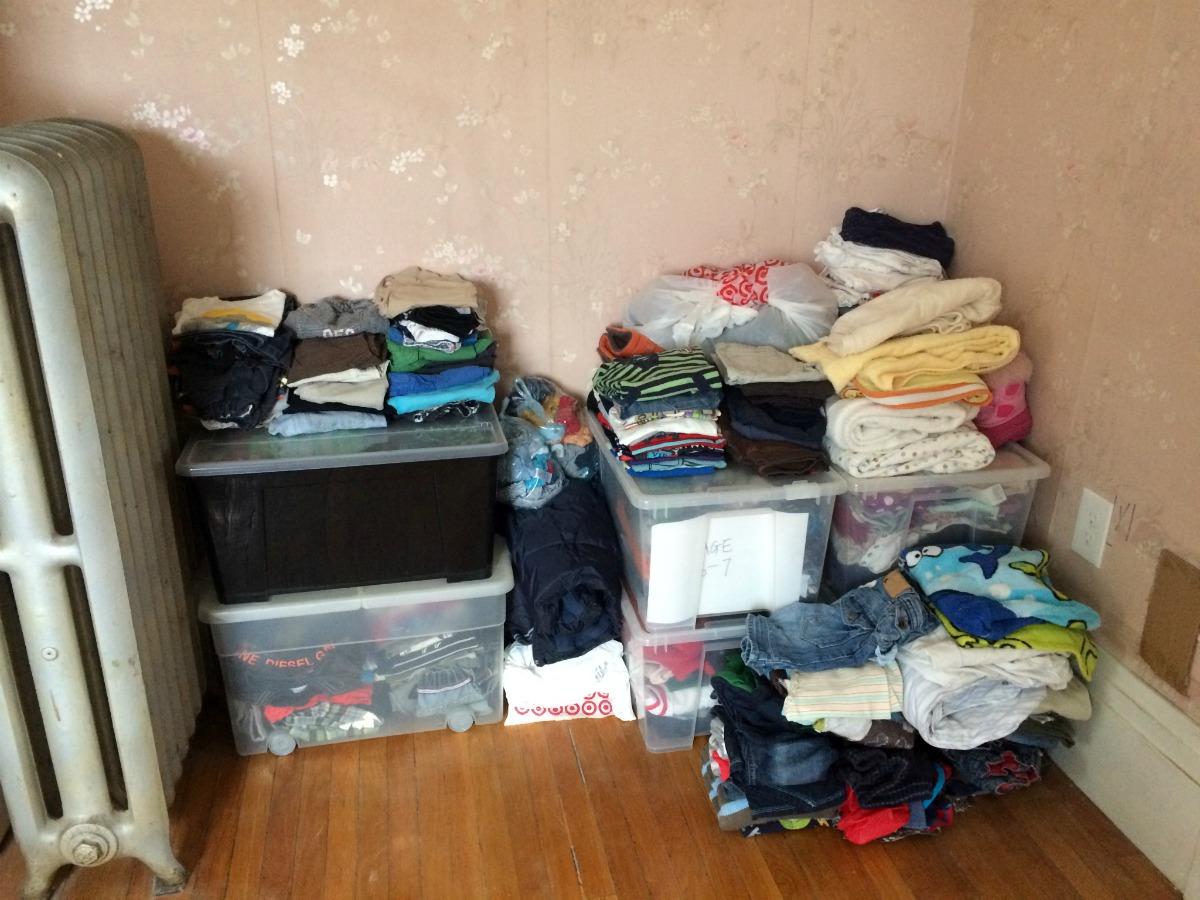 Bedroom - Clutter 1