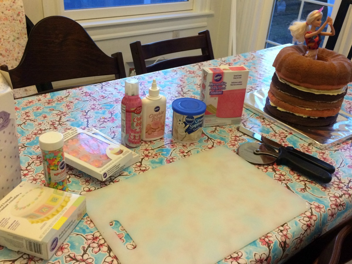 Princess Cake Tutorial 2