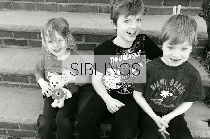 Siblings: April 2016