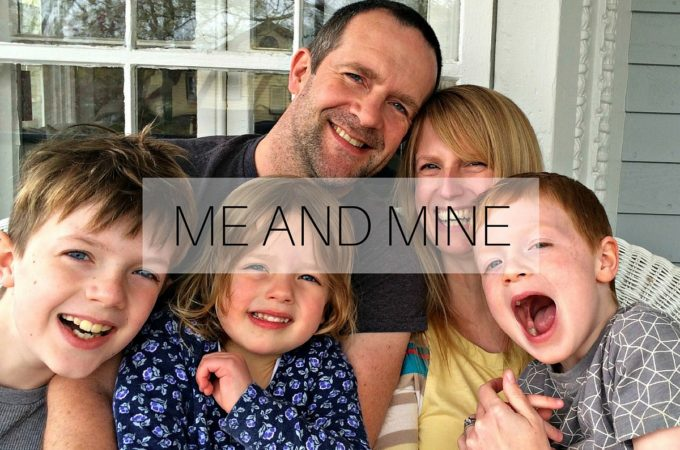 Me and Mine: April 2016