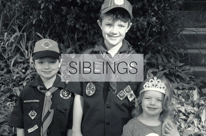 Siblings: May 2016
