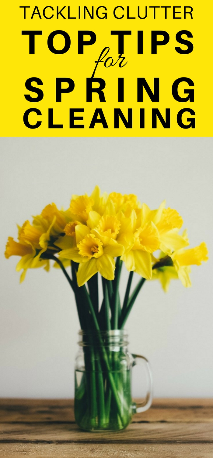 Tackling Clutter - Top Tips for Spring Cleaning