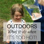 What to do when it's too hot
