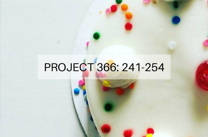 Project 366: Week 35-36: 241-254