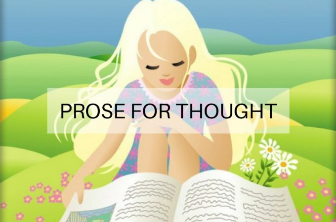 Prose for Thought: 27 October 2016
