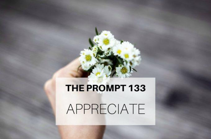 The Prompt: Appreciate