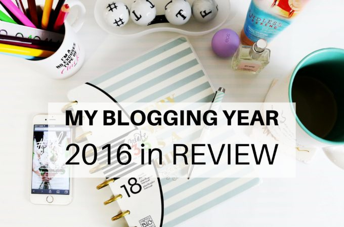 My Blogging Year: 2016 in Review