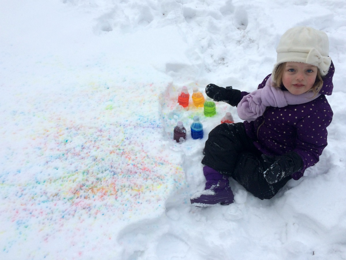 Snow Painting 10