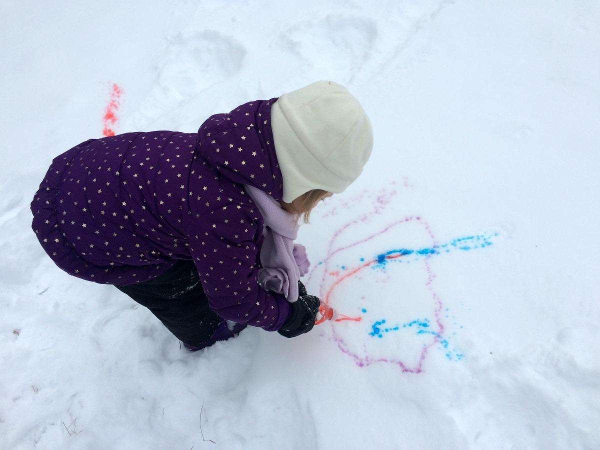 Snow Painting 11