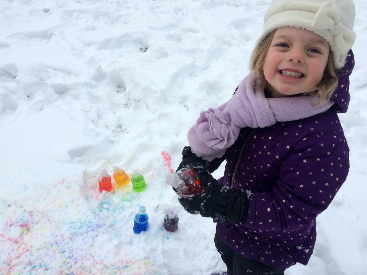 Snow Painting 12