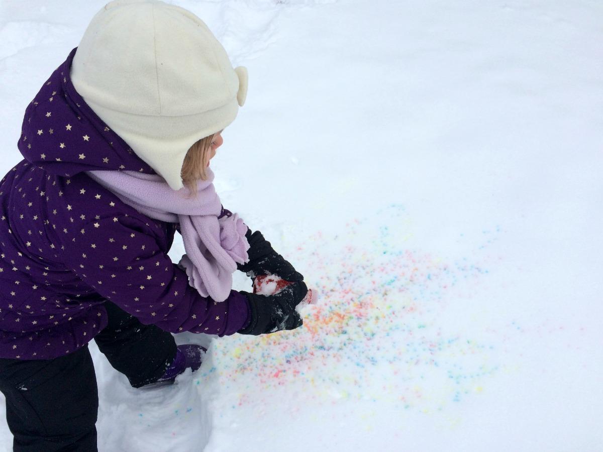 Snow Painting 5