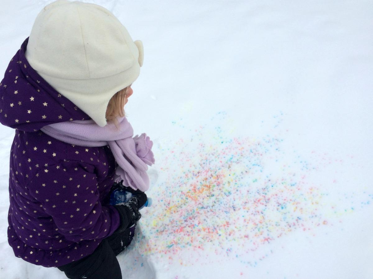 Snow Painting 7