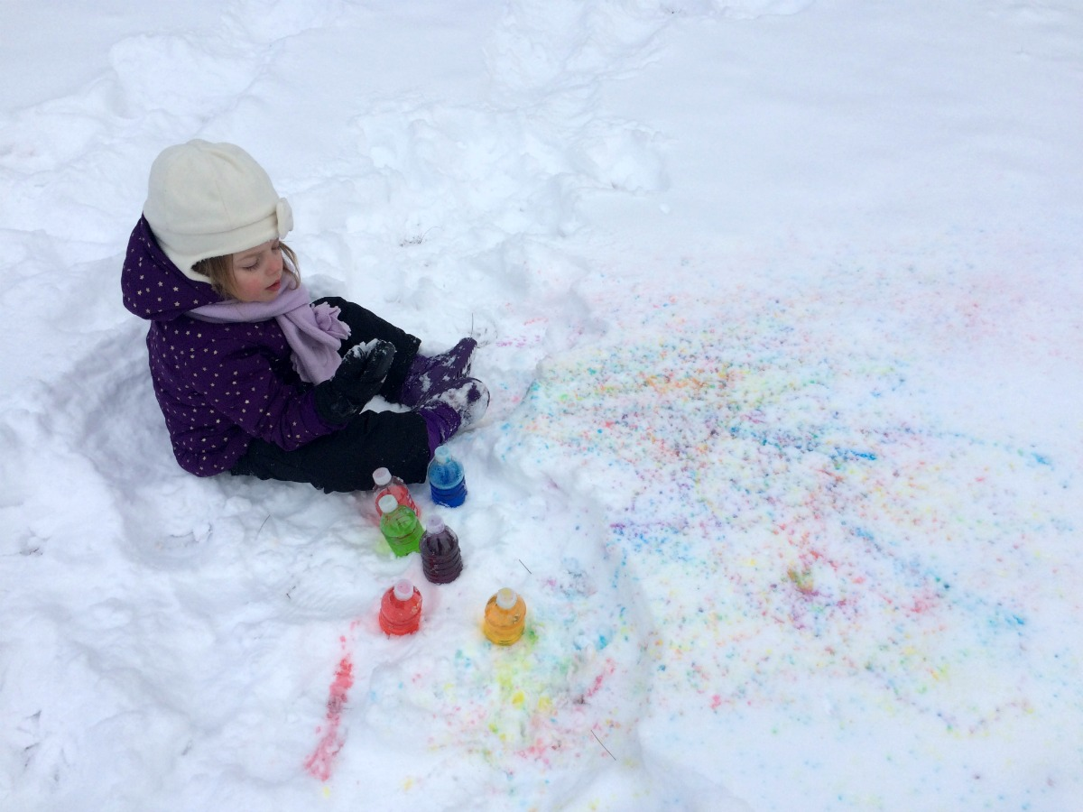 Snow Painting 8