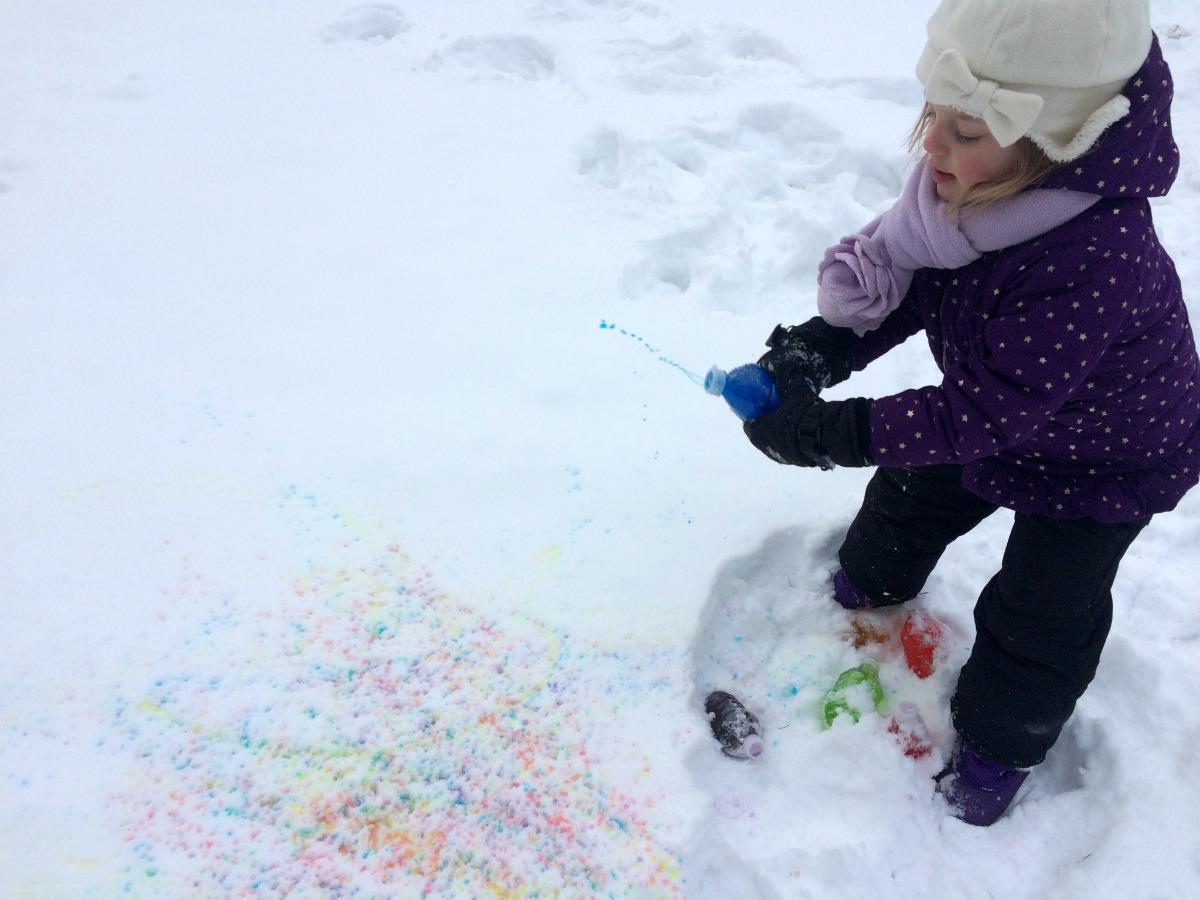 Snow Painting 9