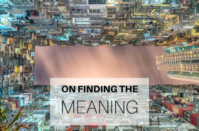 On Finding the Meaning