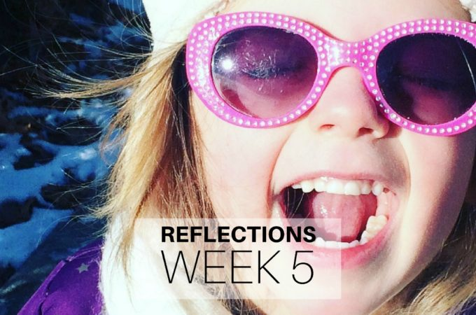 Reflections: Week 5