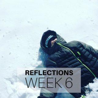 Reflections Week 6