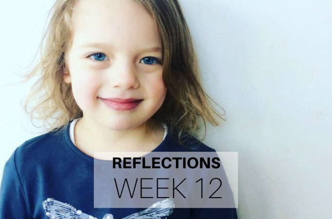Reflections: Week 12