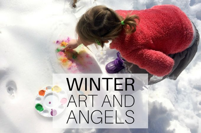 Winter: art and angels
