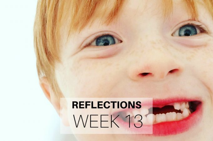 Reflections: Week 13