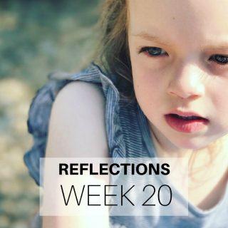 Reflections Week 20