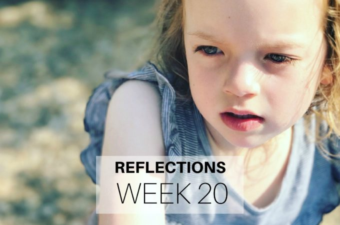 Reflections Week 20