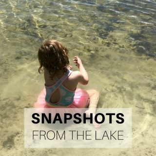 Snapshots from the lake