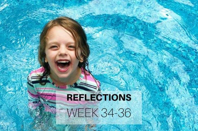 Reflections: Week 34-36