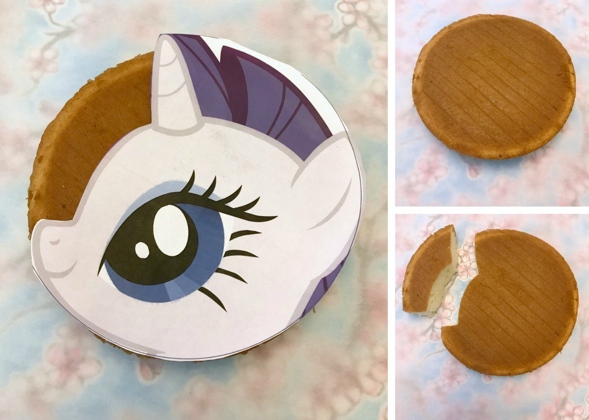My Little Pony Cake Tutorial 1